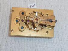 Swiss Buren Platform Escapement Working 34 x 23 Carriage Mantle Mantel Clock