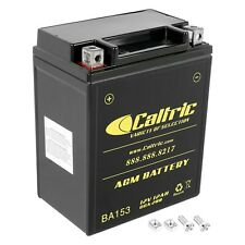 AGM Battery for Yamaha Big Bear 350 YFM350 4WD 1987-1997