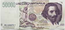 1992+ ITALY 50000 LIRE/LIRA BANKNOTE ITALIA PRE-EUROS ITALIAN PAPER MONEY EUROPE