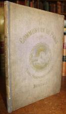1871 Les Communeux Types Caracteres Costumes Par Bertall 34 Colour Plates 1st Ed