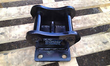 digger excavator top hat brackets top mount plate 1.5t.  any size can be made