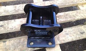 digger excavator top hat brackets top mount plate 0.75-2.5T