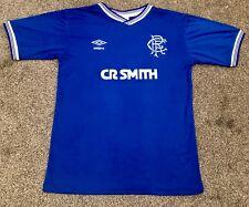 Retro Glasgow Rangers 1984-1987 Home Shirt ALL SIZES