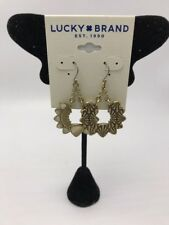 $35 Lucky Brand goldstone stone drop earrings LC 211A
