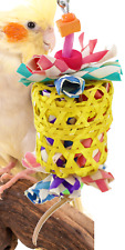 1515 Small Drum Bonka Bird Toy Cage Toys Cages Foraging Chew Shredder Conure