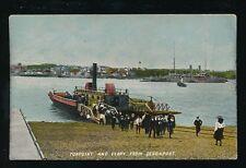 Devon DEVONPORT Torpoint Ferry Unposted c1900s? PPC