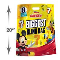 Disney Junior Mickey Mouse Biggest Blind Bag Ever, 8 Surprise Toys, Ages 3 + NEW