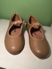 Tap Shoes Girl's size 7.5 Tan by Illinois Theatrical Footwear Dance Shoes