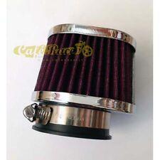 Filtro aria ovale carburatore da 50 a 54 mm cafe racer custom scrambler 103513