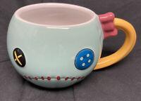 DISNEY STORE Mug SCRUMP Lilo & Stitch CERAMIC Coffee Cup 16 oz