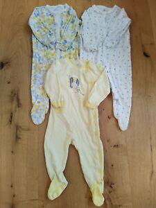 Next 6-9 months girls sleepsuits bundle