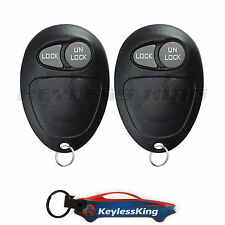 2 Replacement for Pontiac Montana - 2001 2002 2003 2004 2005 2b Keyless Remote