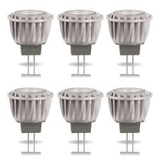 6x LED Reflector MR11 GU4 2w = 15w 120lm Blanco Cálido 2700k Halógeno Repuesto