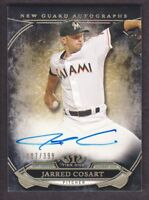 2015 Topps Tier One New Guard Autograph #NGA-JCS Jarred Cosart Auto /399 Marlins