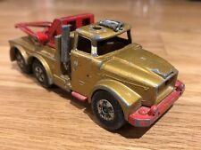 Matchbox Super Kings Scammel Heavy Wreck Truck