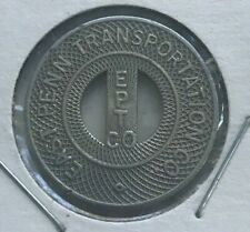 Pottsville Pennsylvania PA East Penn Transportation Co Transportation Token