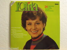 "★★ 12"" DLP - LOLITA - 24 Goldene Hits (Lili Marlen, Seemann , Rolling Home u.a.)"