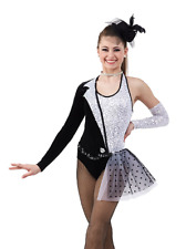 Adult XL Tux Dance Costume Jazz Tap Acro High Society