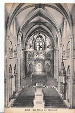 Switzerland Postcard - Basel - Das Innere Des - Munster    MB2013