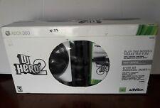 DJ Hero 2 Party Bundle Bonus DJ Hero Game -XBOX 360
