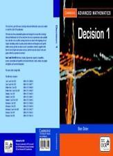 Discrete Mathematics 1: v. 1 (Cambridge Advanced Level Mathematics for OCR),Sta