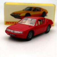 Atlas 1:43 Dinky toys 1411 ALPINE RENAULT A310 Red Diecast Models Collection