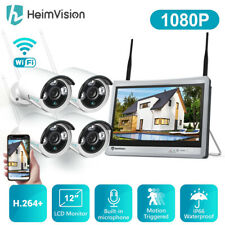 HeimVision 1080P Cctv Ip Camera Wireless Wifi System 8Ch Nvr Home Security Us