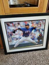 Johan Santana Autograph MLB MN Twins Framed 16x20 With Cert #9/570