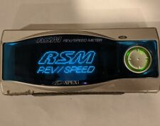JDM APEXI RSM REV SPEED METER CONTROLLER WITH HARNESS gauge