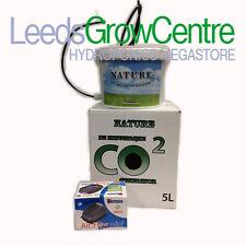 Generador de CO2 De La Naturaleza/Booster Contenedor/Cubo 5 L con bomba de aire Hydroponics