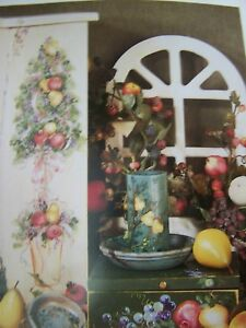 GRAN'S GIFTS BY ROS STALLCUP SCHEEWE 1997 FLOWERS GARDENS TOLE PAINT BOOK