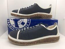 BIRKENSTOCK Unisex Santa Cruz Blue Canvas Sneaker Shoes Sz W 10 M 8 N ZB6-664