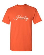 Hubby T Shirt Bachelor Party Gift Wedding Anniversary Valentine's Day Husband
