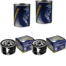 2x Original Sct Filtro de Aceite Sm 142 + 2x Sct Motor Flusch Lavado de Motor