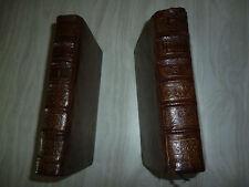 HISTOIRES CHOISIES DES AUTEURS PROFANES 2 Tomes. 1754 E.O & 1778 livre 1,2,3,4,5