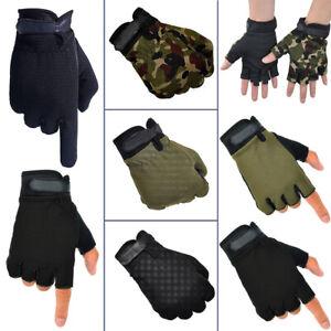 Mountain Bike Riding Outdoor Sports Fitness Short/Full Fingers Half Gloves