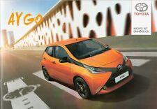 Prospekt / Brochure Toyota Aygo 07/2014 mit Preisliste
