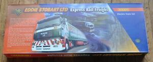 HORNBY EDDIE STOBART RAIL FREIGHT TRAIN SET with CLASS 37 - R1026 NEW [234]