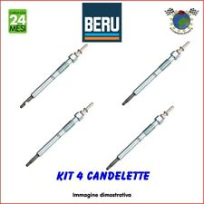 Kit 4 candelette Beru VW GOLF VII GOLF VI CRAFTER TOURAN TIGUAN SHARAN GOLF V
