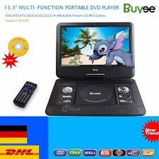 13.3 zoll LCD Display DVD Player Tragbarer DVD Spieler 270°Drehbar DVD-Spieler