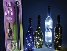 Fortune Light My Bottle Light Decor 1 LED Mini Fairy String Light Lamp Wine Beer