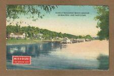 "Rockaway Beach,MO Missouri, scene on beautiful Lake Taneycomo ""Show Me State"""