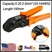 Terminal Crimping Pliers Car connector Tool Sn-02C Tab 0.25-2.5mm² (24-14Awg) Us
