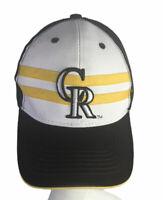 Colorado Rockies Melonwear Baseball Cap Hat Snapback Wyoming Brown Yellow
