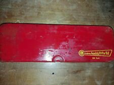 Vintage Outers Gunslick Rifle Cleaning Kit No. 477 30 Cal. In Red Metal Box