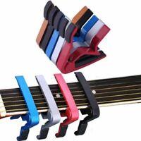 Quick Change Trigger Capo Key Guitar/Banjo/Ukulele/Mandolin Capo Tune Clamp New