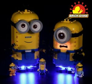 Brick Shine-LED Light Kit for Lego Minions and their Lair 75551(TopRated Seller)