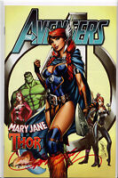AVENGERS #8B ~ SIGNED BY J. SCOTT CAMPBELL ~ Exclusive w/COA