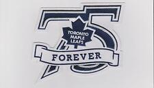 NHL TORONTO MAPLE LEAFS 75TH ANNIVERSARY PATCH