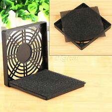 90mm Dustproof Protective Mesh Fan Dust Filter Guard Cover Grill for PC Computer